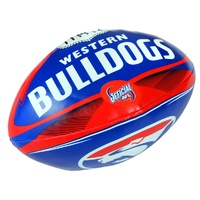"Western Bulldogs 8"" Soft Football"