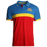 Gold Coast Suns Men's Premium Polo S16