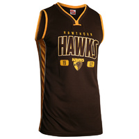 Hawthorn Hawks Men's Basketball Jersey