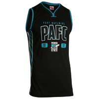 Port Adelaide Power Youth Basketball Jersey