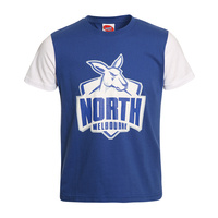 North Melbourne Kangaroos Youth Logo Tee - W17
