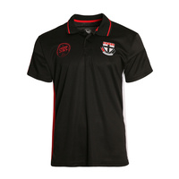 St Kilda Saints Men's Premium Polo - S18