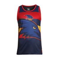 Adelaide Crows Men's Training Singlet - S18