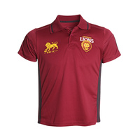 Brisbane Lions Youth Premium Polo - W17