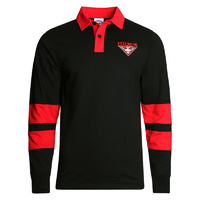 Essendon Bombers Mens Rugby Polo - W18