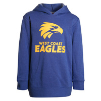 West Coast Eagles Youth Logo Hood - W18