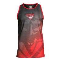 Essendon Bombers Adult Training Singlet - S20