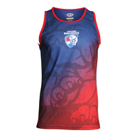 Western Bulldogs Adult Training Singlet - S20