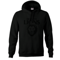 Brisbane Lions Mens Stealth Hood