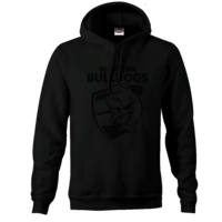 Western Bulldogs Mens Stealth Hood