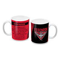 Essendon Logo And Song Mug