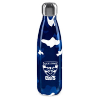 Geelong Cats Stainless Steel Wrap Bottle