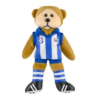 North Melbourne Kangaroos 2017 Beanie Kids Bear - Heritage