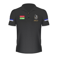 Collingwood Magpies 2019 Mens Players Polo