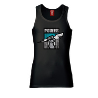 Port Adelaide Mens Retro Singlet
