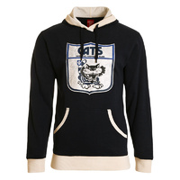 Geelong Cats Retro Pullover Hood - W18