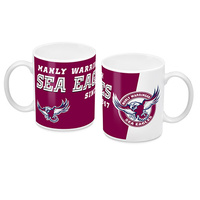 Manly Sea Eagles Ceramic Mug - Logo