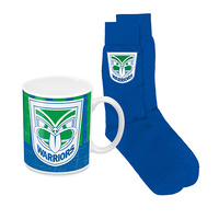 WARRIORS HERITAGE MUG AND SOCK PACK