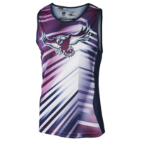 Manly Sea Eagles Mens Training Singlet - W17