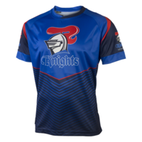 Newcastle Knights Mens Sublimated Tee - S17