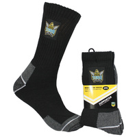 Gold Coast Titans Work Socks - 2 Pack