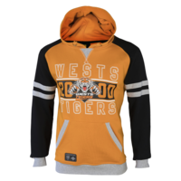 Wests Tigers Mens Fleece Hood - W17