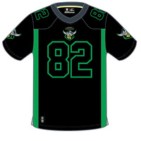 Canberra Raiders Mens Gridiron Jersey - W18
