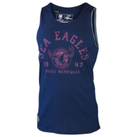Manly Sea Eagles Mens Cotton Singlet - W17