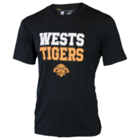 Wests Tigers Mens Cotton Tee - W17