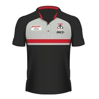 St Kilda Saints 2020 Mens Media Polo