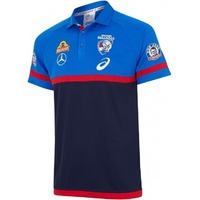 Western Bulldogs 2018 Mens Media Polo