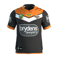 Wests Tigers Mens 2017 Authentics Home Jersey