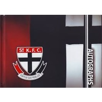 St Kilda Saints Autograph Book