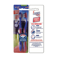 Western Bulldogs Toothbrush - 2 Pack
