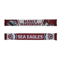 Manly Sea Eagles Cleave Jacquard Scarf