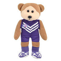 Fremantle Dockers Beanie Kids Player Bear