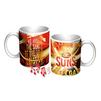 Gold Coast Suns Musical Ceramic Mug - It Sings