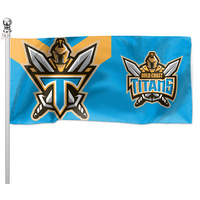 Gold Coast Titans Flag Pole Flag