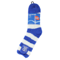 North Melbourne Kangaroos AFL Ladies Bed Sock