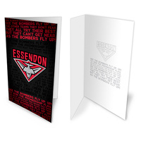 Essendon Bombers Musical Greeting Card