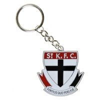 St Kilda Saints Metallic Keyring (Logo)