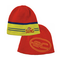 Gold Coast Suns Reversible Beanie