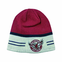 Manly Sea Eagles Reversible Beanie