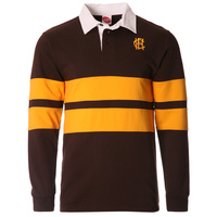 Hawthorn Hawks Supporter Rugby Top - Mens