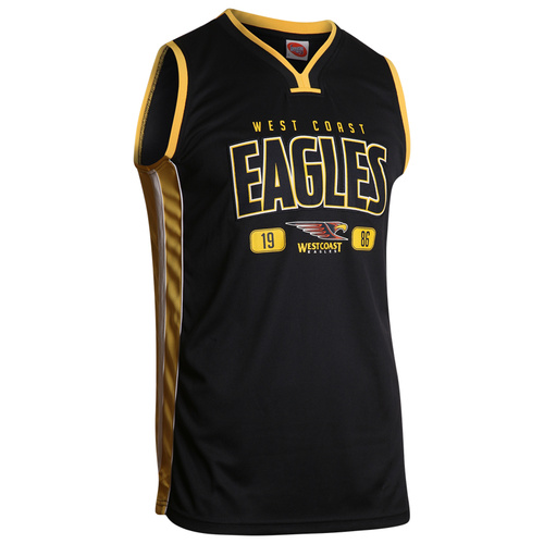 West Coast Eagles Youth Basketball Jersey