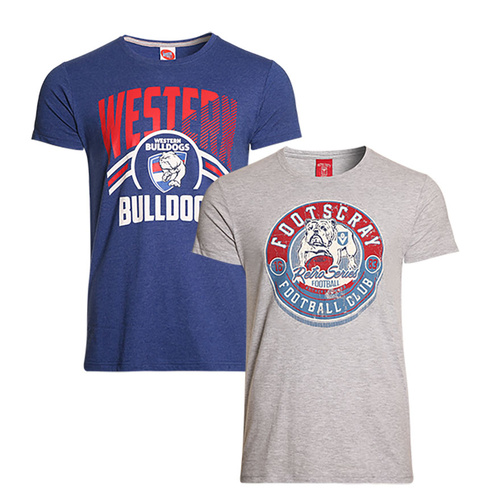 Western Bulldogs '2 x T-Shirts' Set - S18
