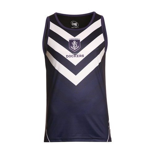 Fremantle Dockers Men's Training Singlet - S18