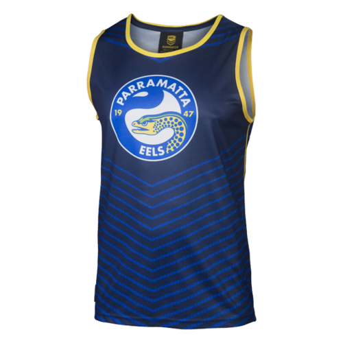 Parramatta Eels Youth Sublimated Singlet - S17