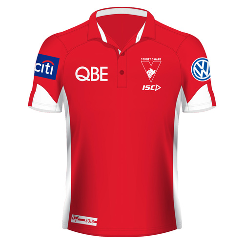 Sydney Swans 2018 Mens Media Polo