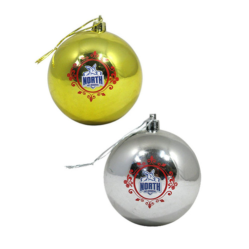 North Melbourne Kangaroos Christmas Baubles - Pack of 6